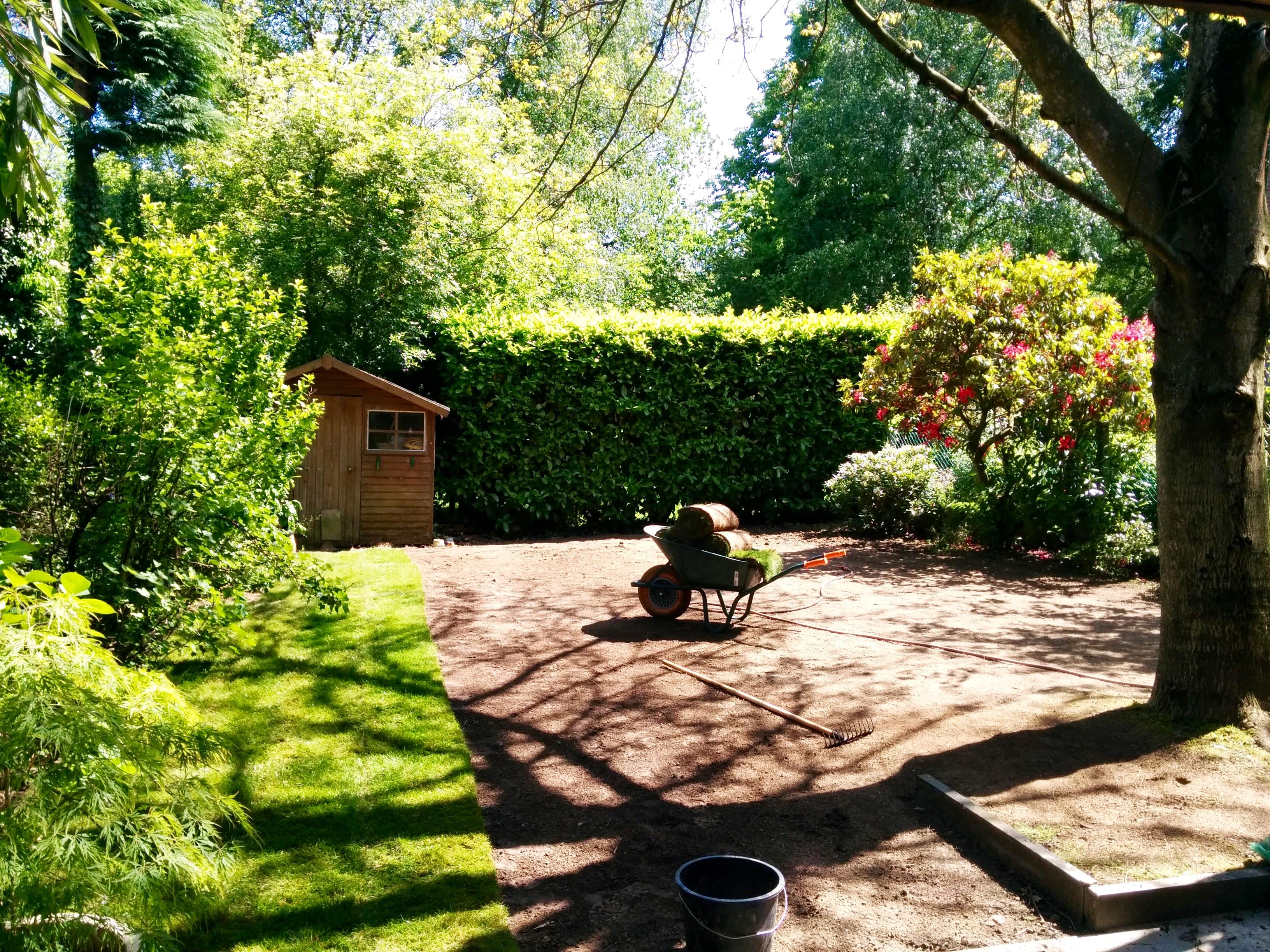 Branch jardin pelouse en rouleaux bruxelles branch for Entretien jardin bruxelles